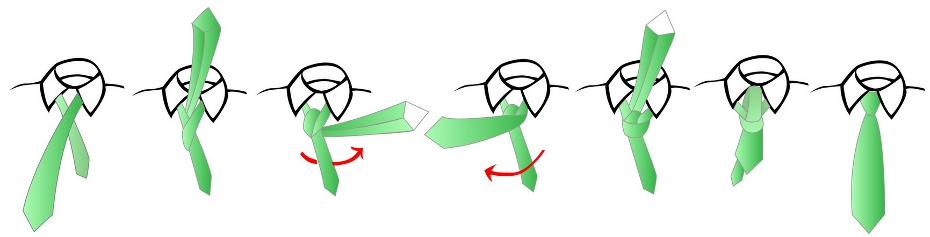 Tie a tie how to tie a tie printable overview windsor tie knot ccuart Images